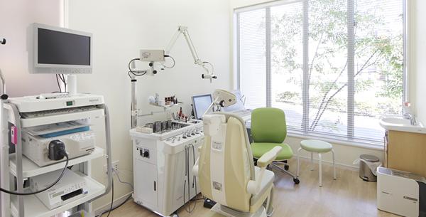 せのお耳鼻科クリニック:診察室