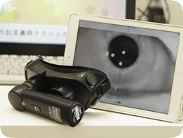 赤外線眼振検査装置